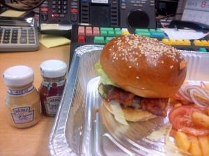 Burger from Chinnery, Mandarin. hands down a much better choice