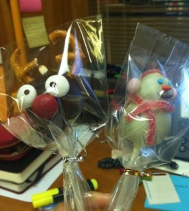 Reindeer cakepop version 3.0