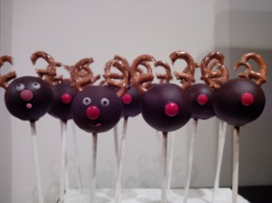 Reindeer cakepops version 1.0