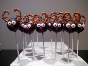 Reindeer cakepop version 2.0